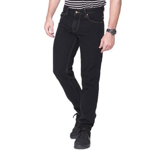 Foto Produk 2Nd RED Jeans Pria Basic Pola Standart Hitam 171906 - 29, Hitam dari 2nd RED Jeans