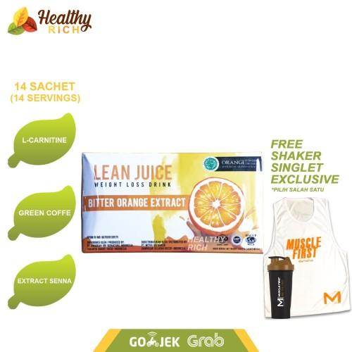 Foto Produk LEAN JUICE SLIMMING DRINK with L carnitine 14servings dari Healthy Rich