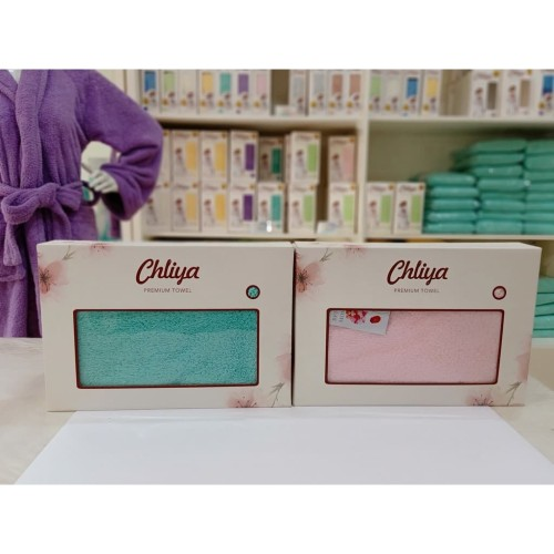 Foto Produk Special Valentine Gift - Chliya Bath Towel for Couple dari Chliya Towel