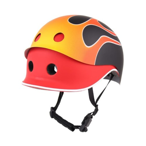 Foto Produk Cover Helm Anak London Taxi J-Met Kids (Cover Only) - Fire Red dari IIMO Official