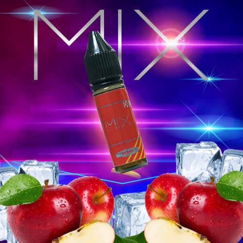 Foto Produk Mix - Merah - Apple Fuji - 15ml Premium Liquid Freebase dan Salt dari VapeOi