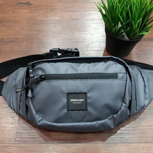Foto Produk tas waistbag pria Greenlight abu ORIGINAL dari zoel_cloth