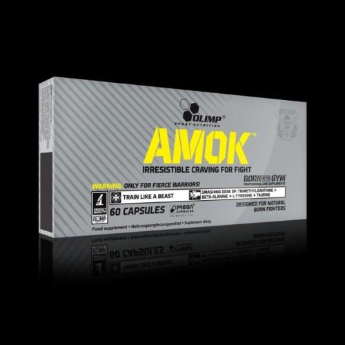 Foto Produk Olimp Amox Power Caps 60caps Pre Workout Preworkout PreWO WO Capsule dari Mangga Dua Store