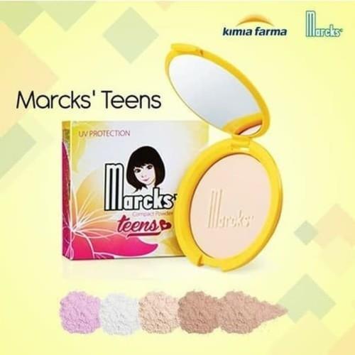 Foto Produk [BPOM] MARCK'S Marcks Teens Compact Powder 12g - Bedak Padat - Compact Creme dari HNCbeauty