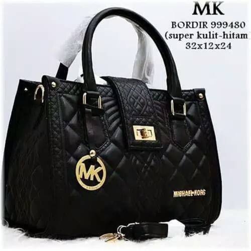 Foto Produk Tas wanita MK Bordir super/tas wanita murah/tas wanita branded/handbag dari keyla ciwis shop