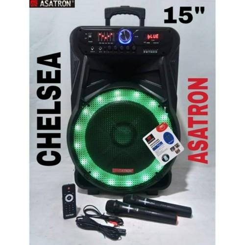 Foto Produk CHELSEA Speaker Portable Asatron Chelsea 8873 15inch EQUALIZER dari First Audio Pro