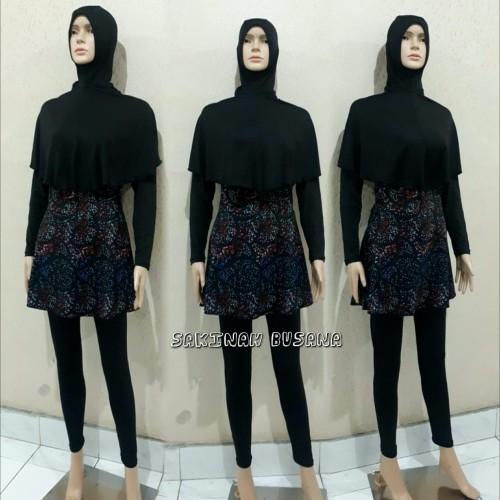Foto Produk baju renang wanita muslimah dewasa kerudung panjang 001 dari sakinahbusana