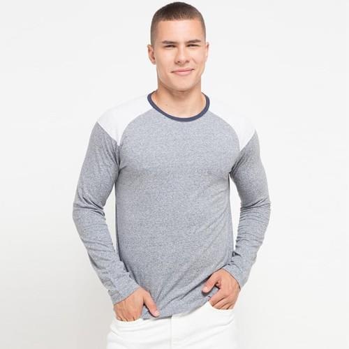 Foto Produk Cressida Color Block T-Shirt A027 - Abu-abu, S dari Cressida The Next Level