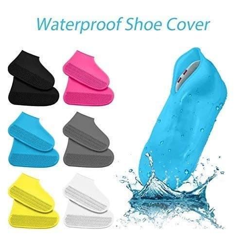 Foto Produk Cover Sepatu Karet Silicone Anti Air Sarung Pelindung Sepatu Silikon dari mofan accesories