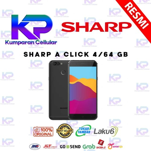 Foto Produk SHARP A CLICK 4GB 64GB GARANSI RESMI dari Kumparan Cellular