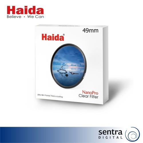 Foto Produk Haida NanoPro MC Clear Filter 49mm - HD3290 dari Sentra Digital