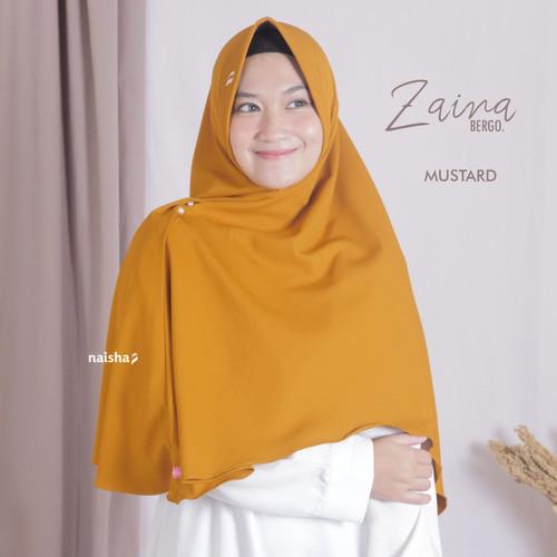 Foto Produk Zaina Bergo by Naisha - Mustard dari naishaofficial