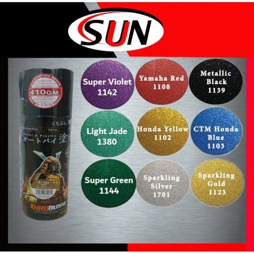 Foto Produk Pilox Samurai 400 ml Pilok Silver Sparkling black Metallic Gold red dari Sun Hardware