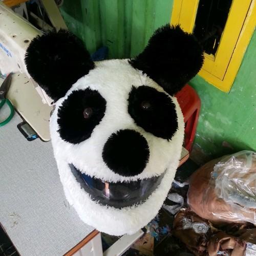 Foto Produk cover helm PANDA dari derryshops