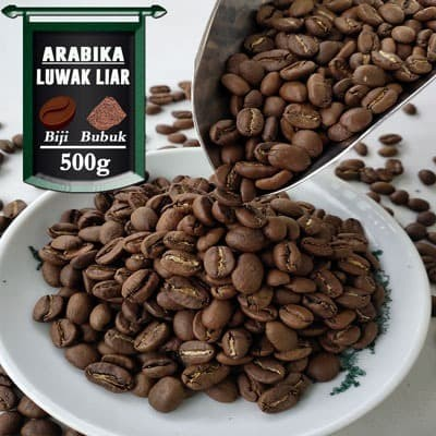 Foto Produk Kopi Arabika Gayo Luwak Liar 500g - Bubuk Halus, AZA Label dari Azacoffee