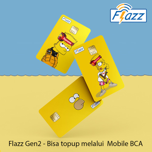 Foto Produk Custom FLAZZ BCA 1 Muka Design Suka Suka dari 129case