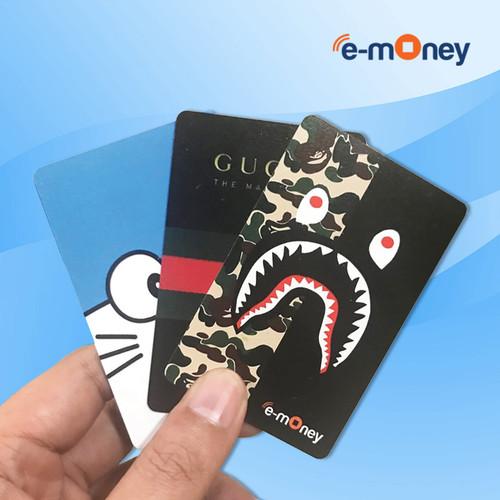 Foto Produk Custom emoney / etoll card Mandiri 1 sisi kualitas terbaik dari 129case