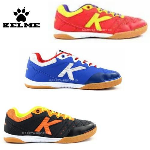 Foto Produk Sepatu Futsal Kelme Feline Evo Red Yellow / Blue dari mareta.corp