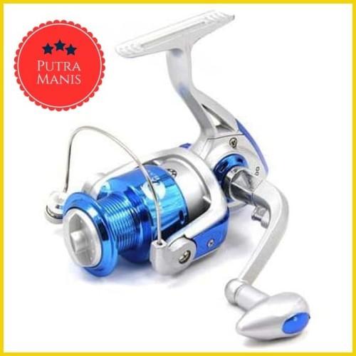 Foto Produk Alat Reel Pancing gulungan Fishing Spinning 8 Ball Bearing CS 3000 dari PUTRA MANIS