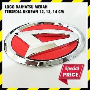 Foto Produk Emblem Daihatsu Merah dari Pusat Aksesoris Import *
