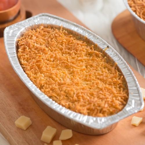 Foto Produk Makaroni Panggang Smoked Beef REGULAR (21X12X4.3cm) - Beef dari Debby's Macaroni