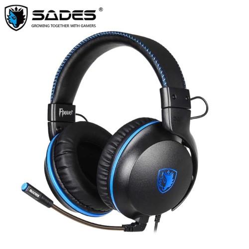 Foto Produk Headset Gaming Sades Fpower SA-717 dari Terabit Komputer