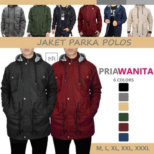 Foto Produk Jaket Parka Jaket Pria Jacket Murah Berkualitas - Navy, M dari Mr ORI