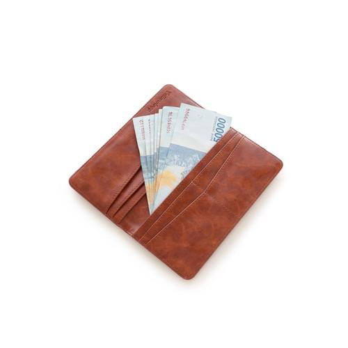 Foto Produk Cottonology Dompet Long choco Brown - Cokelat dari Cottonology Indonesia