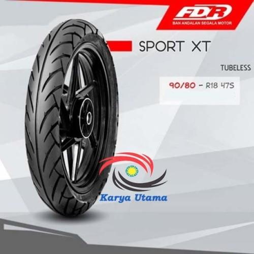 Foto Produk Ban Luar Federal FDR 90/80-18 90/80 Ring 18 Tubeless Tubles Sport XT dari Karya Utama shop