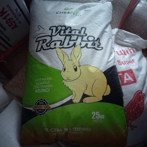 Foto Produk VITAL RABBIT 25KG dari hendri poultry shop