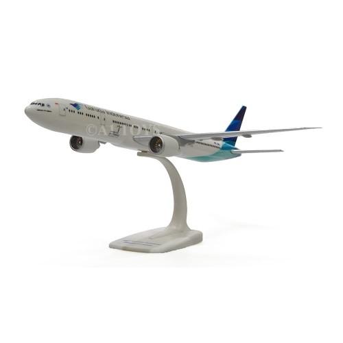 Foto Produk Miniatur Pesawat Garuda Indonesia Boeing B777-300ER Herpa 37 cm 1:200 dari A1 TOYS