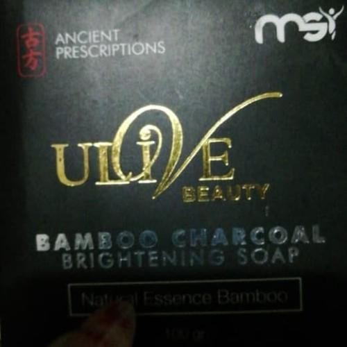 Foto Produk Sabun BAMBOO MSI original 1 batang utuh / BAMBOO CHARCOAL SOAP dari drajat-aji