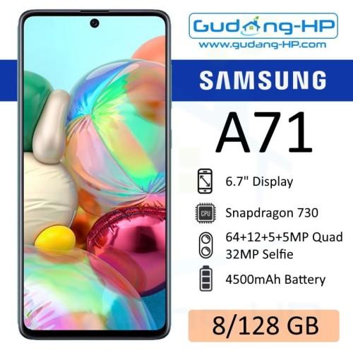 Foto Produk Samsung Galaxy A71 8/128 GB Garansi Resmi SEIN - Hitam dari Gudang-HP