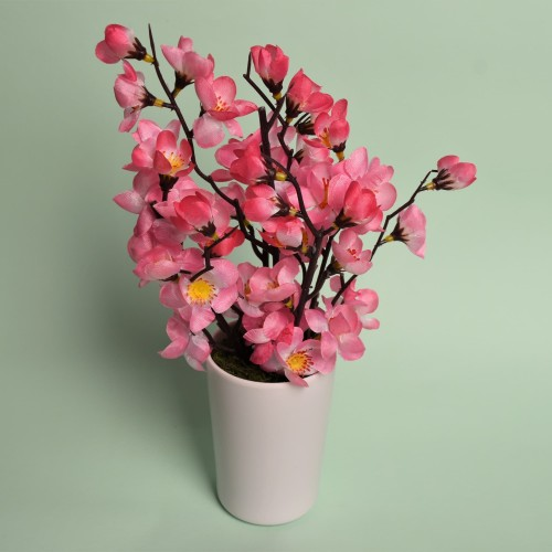 Foto Produk Bunga Sakura Jepang Artificial / Plastik / Palsu Dekorasi Rumah Cantik - Merah Muda dari JOYO SEJAHTERA JEWELLERY