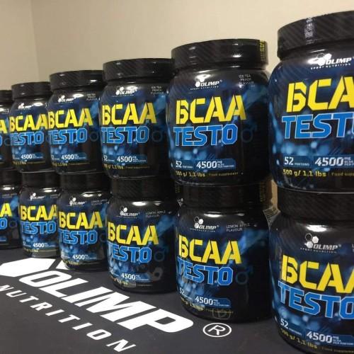 Foto Produk Olimp BCAA Testo 500gr 52 Serving Testosterone Booster Recovery Amino dari Mangga Dua Store