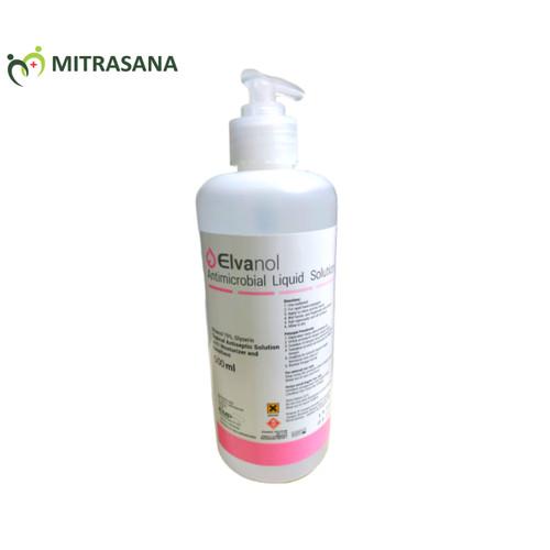 Foto Produk Elvanol hand sanitizer 500ml dari Mitrasana