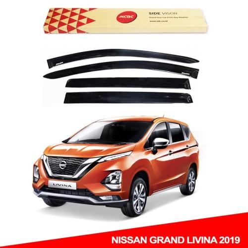 Foto Produk Nissan Grand Livina All New 2019 Talang Air Slim Soli Black Asli MCBC dari TDC Variasi