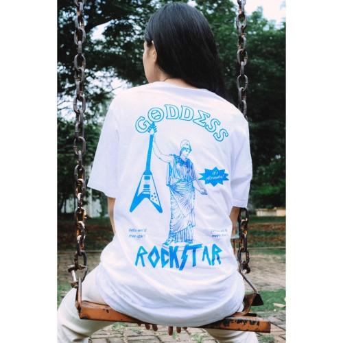 Foto Produk Reality Club - Alexandra White Short Sleeve T-Shirt dari Reality Club Official