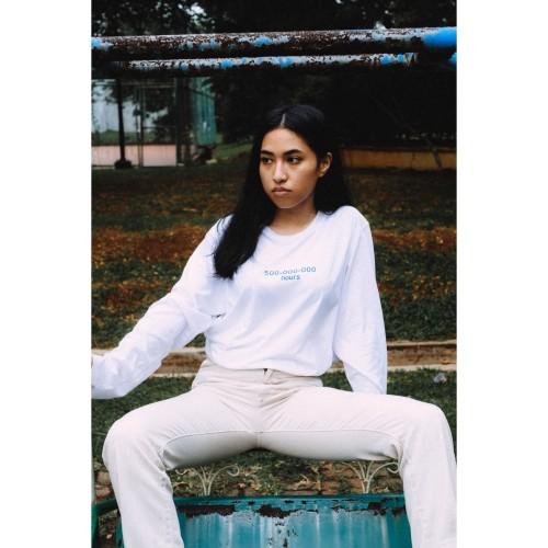 Foto Produk Reality Club - Alexandra White Long Sleeve T-Shirt dari Reality Club Official