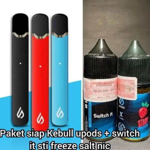 Foto Produk Promo Paket Ngebull Upods V2 Series Liquid Switch It Strawberry Freeze dari gembul _bagaskoro