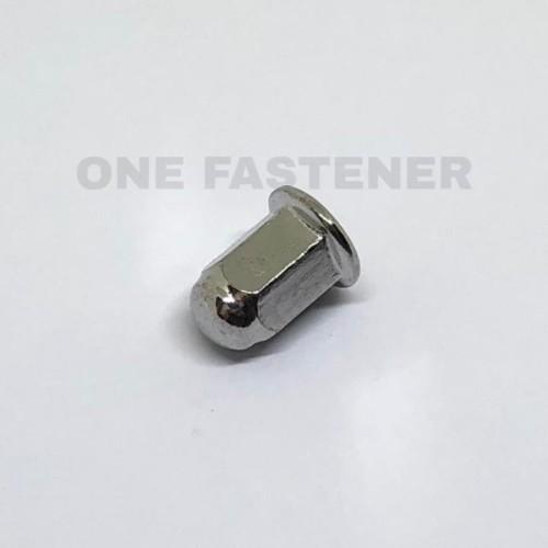Foto Produk mt0122 MUR Topi m8 FCN FLANGE CHROME Baut 12 dari ONE_FASTENER