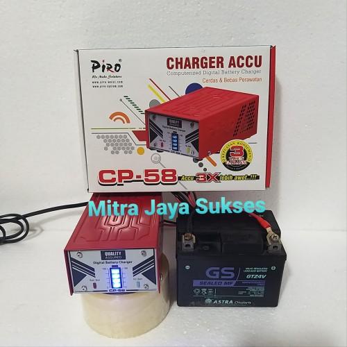 Foto Produk Charger Accu Aki Piro CP 58 dari Mitra Jaya Sukses