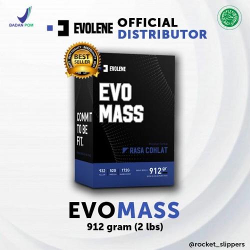 Foto Produk EVOLENE Evomass Gainer 2 lbs / 912 gram - Evo mass Suplemen Massa Otot dari rocket_slippers