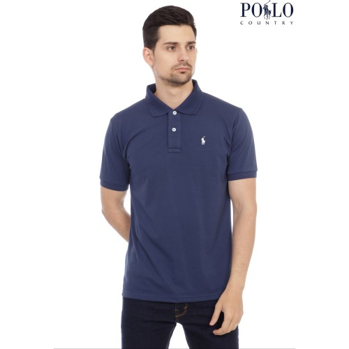 Foto Produk [POLO COUNTRY] CLASSIC POLO SHIRT KK - Abu Misty Muda, M dari Polo Country Indonesia