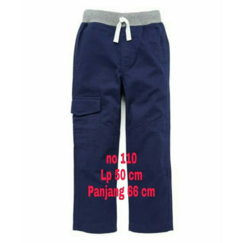 Foto Produk Celana Panjang Anak Laki Laki Cargo no 110 - Hijau Army dari Little Cas