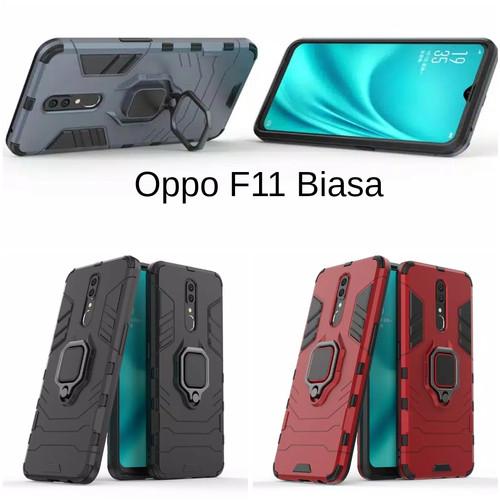 Foto Produk Casing Hardcase Robot Oppo F11 Hard Back Case - Merah dari hanamigadget