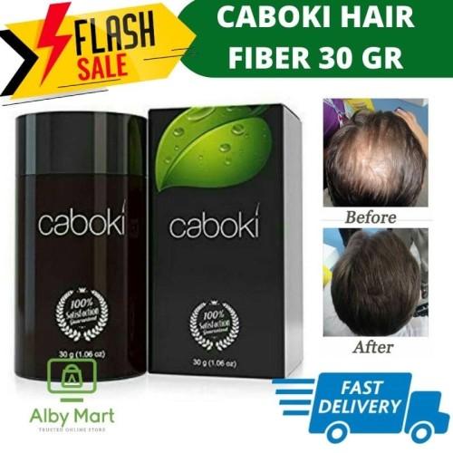 Foto Produk CABOKI HAIR FIBER 25GR original (no Pin BB) termurah - Hitam dari cabokimurah