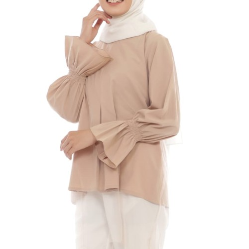 Foto Produk Tunik Aurel - Cokelat dari Rhani Collection