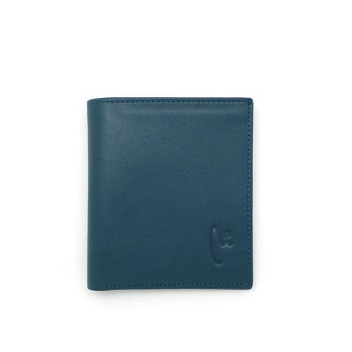 Foto Produk VERMONT V83 - B003 Dark Teal Small Genuine Leather Wallet dari VERMONT LEATHER