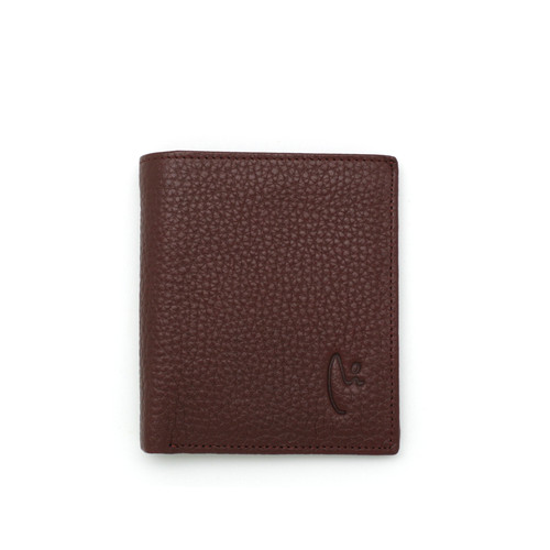Foto Produk VERMONT V83 - B003 Classic Maroon Small Genuine Leather Wallet dari VERMONT LEATHER